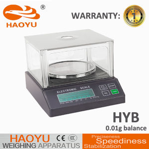DTY1000 Electronic Balance Scale LCD Display Used in Laboratory pictures & photos