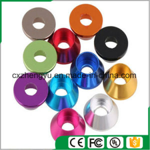 Aluminum Cup Head Washer, Color Anodized Aluminum Cup Head Washer, Color Screw Washer pictures & photos