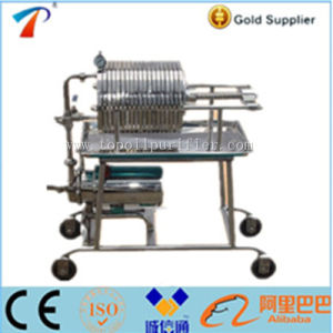 Stainless Steel Plate and Frame Cooking Oil Filter Press (BAS100...11) pictures & photos