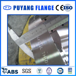Stainless Steel DIN2566 Threaded with Neck Flange (PY0018) pictures & photos