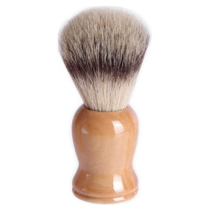 Wooden Handle Bristle Hair Shaving Makeup Cosmetic Brush pictures & photos