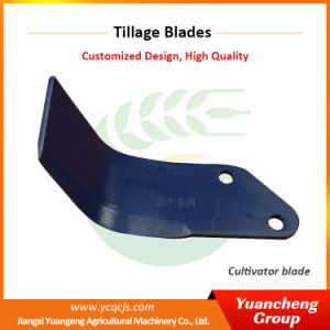 65mn Spring Steel Soil Work Mini Power Tiller Blade