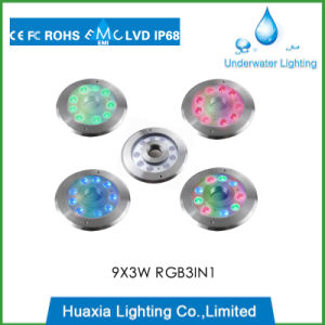 316 Stainless Steel LED Underwater Fountain Ring Lights pictures & photos