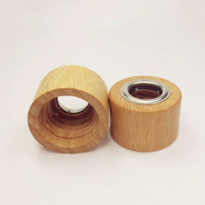 New Design Square Wooden Perfume Cap pictures & photos