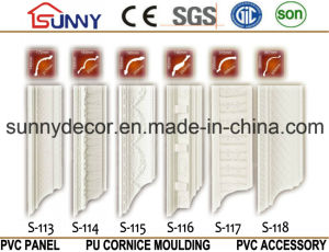 PU Cornice Moulding/ Decoration Mouldings/ PU Cornice for Turkey pictures & photos
