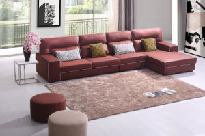 Home Furniture Modern Living Room Fabric Sofa Set (HC571) pictures & photos