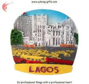 2016 Lagos Girl Resin Fridge Magnets for Promotion (YH-FM095) pictures & photos