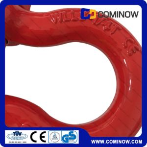 G2130 Us Type Drop Forged Bow Shackle Galvanized / Bolt Type Anchor Shackle pictures & photos