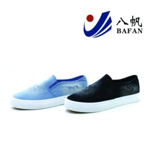 Washed Demin Upper Canvas Shoes Bf1701538 pictures & photos