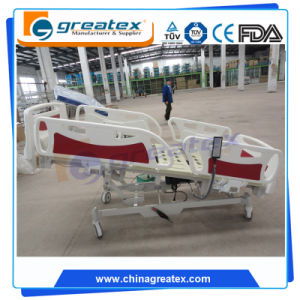 Ce FDA Certificated Cheap 5 Function Electric Hospital Bed (GT-BE5026) pictures & photos
