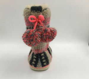 Lds Knit Indoor Slipper pictures & photos