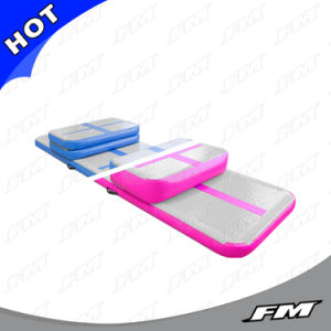 PVC Durable Dwf Air Track Mat Inflatable Home Edition pictures & photos