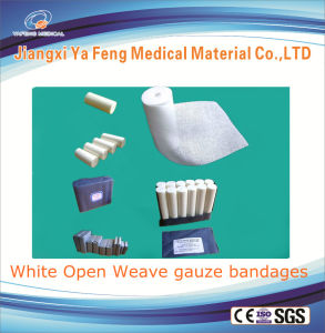 Medical Absorbent Cotton W. O. W Gauze Bandages Rolls Sterile or Non Sterile pictures & photos