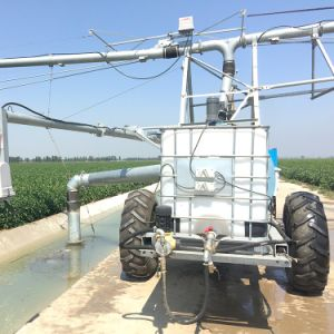 Automatic Lateral Move Pivot Irrigation System with End Sprayer pictures & photos