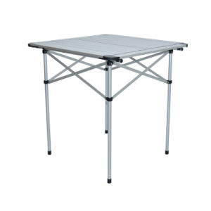 Topsales Aluminum Light Weight Camping Outdoor Portable Table (QRJ-Z-002)