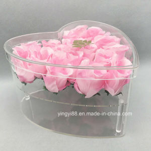 New Clear Acrylic Plastic Buckets for Flowers pictures & photos