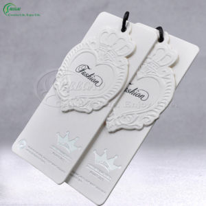 Printed Embossed Tags for Clothing, Shoes, Garment, Bags (KG-PA049) pictures & photos