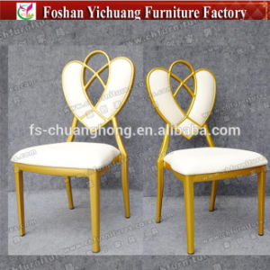 Wooden Wholesale High Quality New Design Stainless Steel Chair (YC-D88-1) pictures & photos