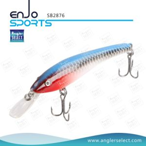 Artificial Lure Top Water Fishing Tackle Stick Bait with Vmc Treble Hooks pictures & photos