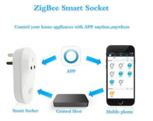 New Design Zigbee Smart Home Automation Solution Electrical Extension Socket pictures & photos