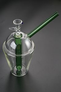 Glass Smoking Pipe with Percalator and Recycler with Best Quality pictures & photos