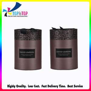 Luxury Hot Stamping Special Paper Tube Box Round Box pictures & photos