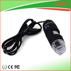 Super Portable 500X USB Digital Microscope with 8 LED Lights pictures & photos
