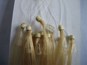 X-Ring Human Hair High End Color Customizable High Quality Loop Hair Extension pictures & photos