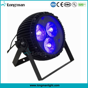 DMX 3*60W RGBW 4in1 LED Zoom PAR Cans for Party pictures & photos