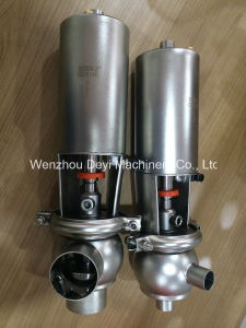 Stainless Steel Sanitary Manual Single Seat Cut off Valve pictures & photos