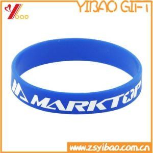 Wholesale Customized Silicon Wristband for Promotional Gift pictures & photos