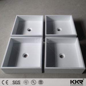 Bathroom Solid Surface Countertop Stone Sink pictures & photos