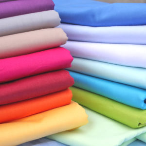 Woven Textile 100% Cotton Fabric for Shirt