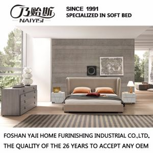 Fashion Double Bed Design Modern Bedroom Furniture Soft Bed (G7007) pictures & photos