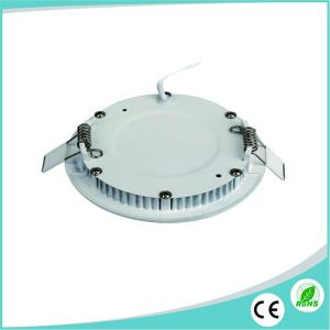 Ultra Thin 12W Round LED Panel for Ceiling Lighting pictures & photos