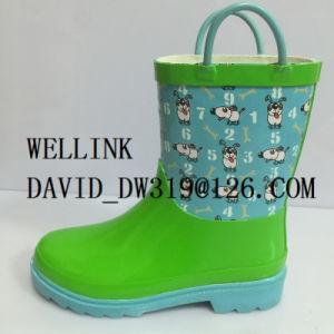 Cute Child Rubber Rainboots pictures & photos