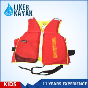High Quality EPE Inflatable Kids Watersport Float Life Vest pictures & photos
