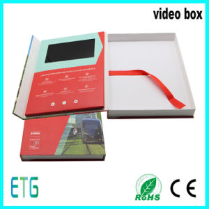 7 Inch IPS Screen Spot Colour Printing Video Box pictures & photos