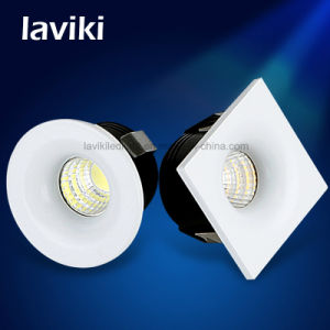 Square Round Recessed COB LED Mini Spot Light with 3W for Cabinet, Showcase, Jewelry Store pictures & photos
