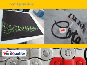 Reliable Quality Inspection, Quality Inspection Service for Scarf/Clothing/Hometextile pictures & photos