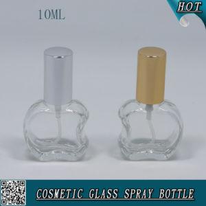 Irregular Mini 10ml Glass Perfume Bottle with Aluminum Sprayer and Cap pictures & photos
