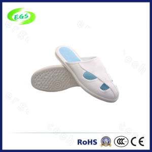 White Color Four - Hole Anti Static Shoes Slipper pictures & photos