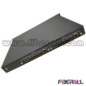 10g Olt for Gepon with 1fe 4pon 4SFP and 1XFP Ports pictures & photos