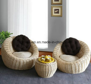 Lazy Sofa Pastoral Originality of The Cane Makes up Single Sitting Room Balcony Cany Chair Recreational Chair The Sofa Set (M-X3778) pictures & photos