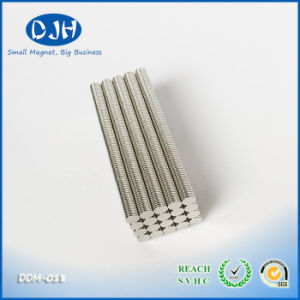 Neo Magnet Diameter 6 * Thickness 0.8 mm The Thickness Can Be 0.5 mm pictures & photos