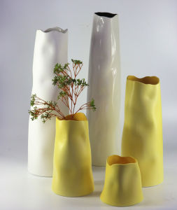 Fashion Popular Color Glaze Ceramic Craft Vase