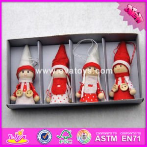 017 New Products Baby Cartoon Dolls Wooden Best Selling Toys W02A235 pictures & photos