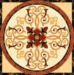Flower Pattern Carpet Tile Polished Crystal Ceramic Floor Tile 1200X1200mm (BMP37) pictures & photos