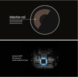 Intelligent-Identification DC 5V 2A Wireless Charger for Gionee Mobile Phone pictures & photos
