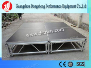 on Sale Aluminum Adjustable Height Plywood Stage pictures & photos